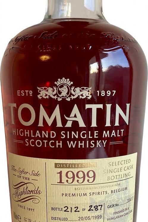 Tomatin 1999 single cask 33417 57,7%