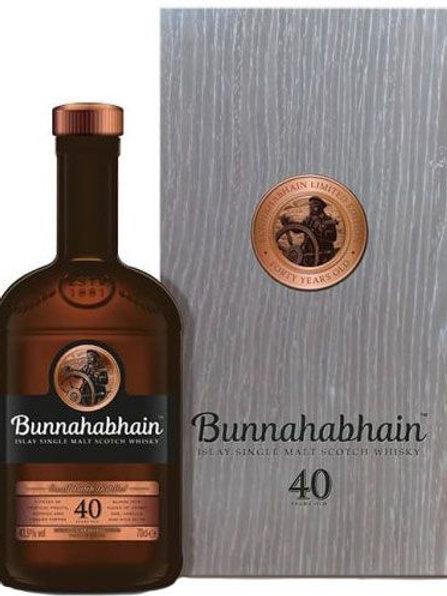 Bunnahabhain 40y 41,9%