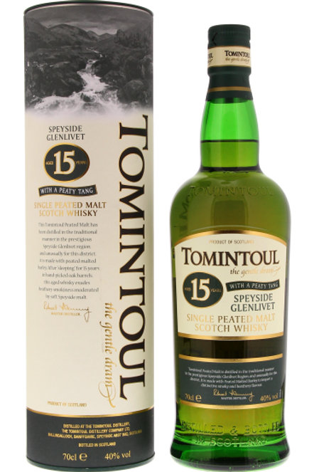 Tomintoul Peaty Tang 15y