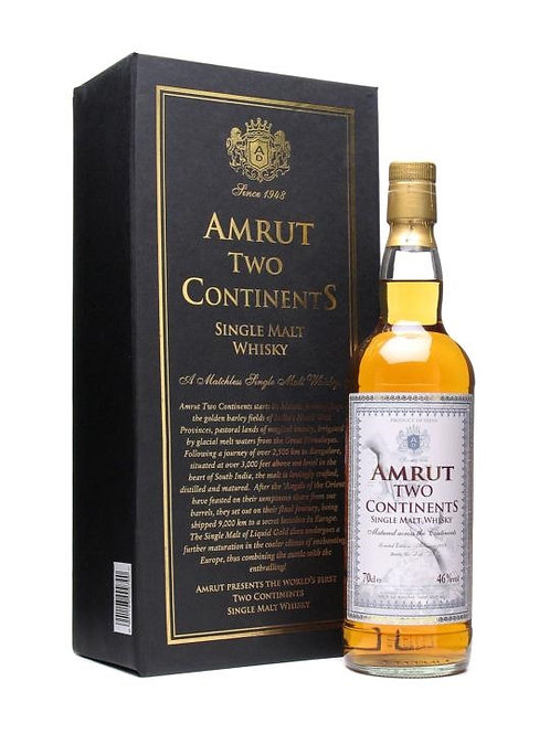Amrut Two Continents 3rd Edition 46%