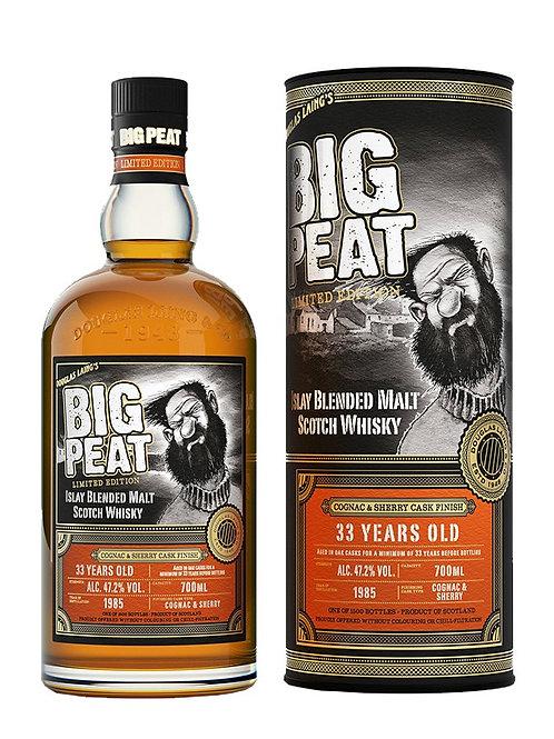 Douglas Laing' s Big Peat 33y Cognac & Sherry Finish 47,2%