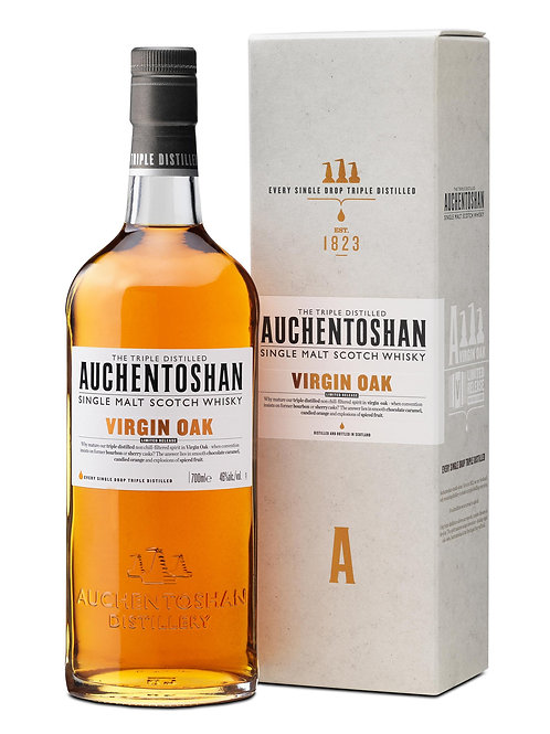 Auchentoshan Virgin Oak Ltd ed. 2014