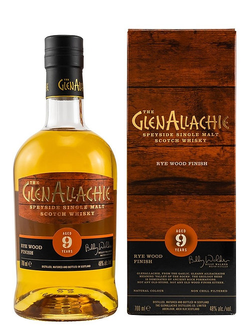 Glenallachie 9y Rye Finish 48%