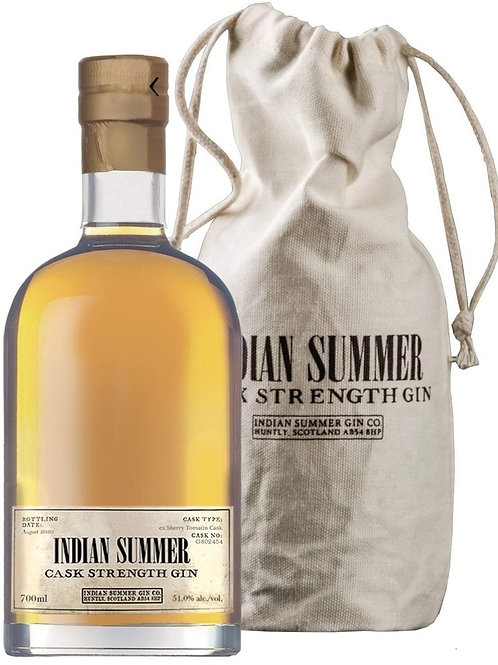 Gin Duncan Taylor Indian Summer Ex- Aultmore cask, Cask strength 55,5%
