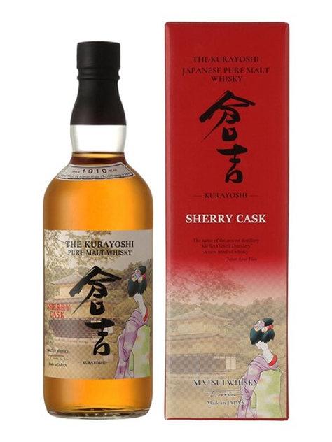 Kurayoshi Pure Malt Sherry 43%