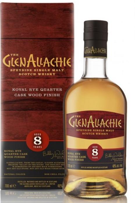 Glenallachie 8y Koval Rye Quarter cask Finish 48%
