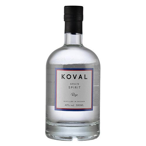 Koval White Rye Whiskey 40% 50cl
