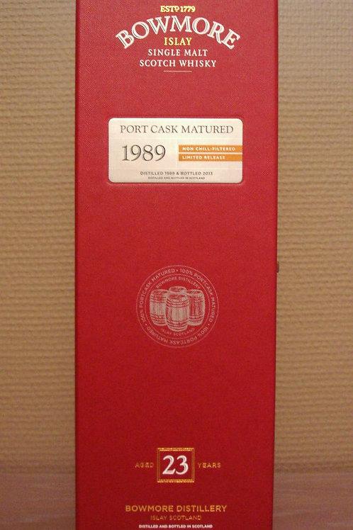 Bowmore Port Matured Vintage 1989 23y LTD Ed. 2013 50,8%