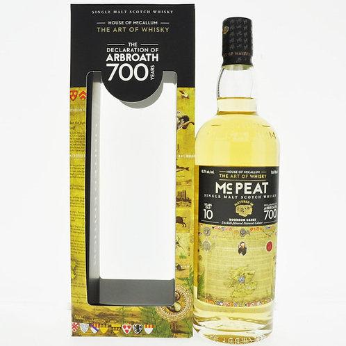 Mccallum Peat 2010-10y Islay Malt 46,2%
