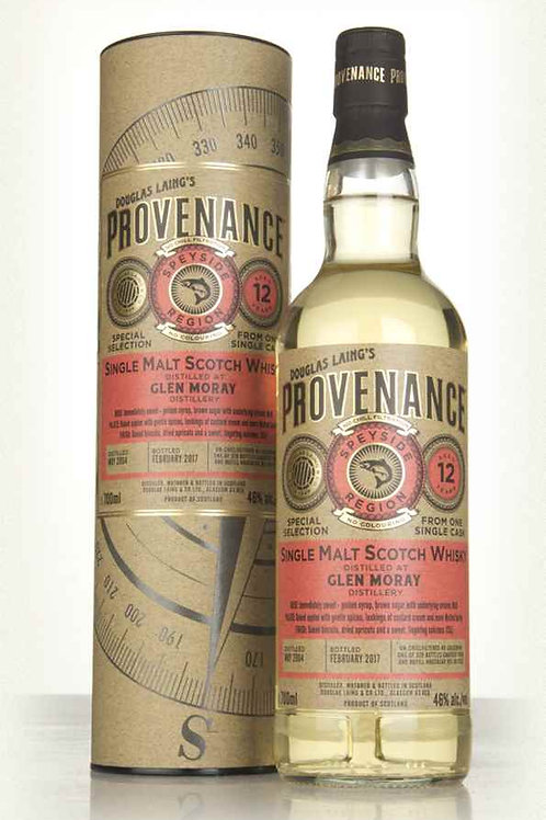 Douglas Laing' s Provenance Glen Moray 2007 12y 46%