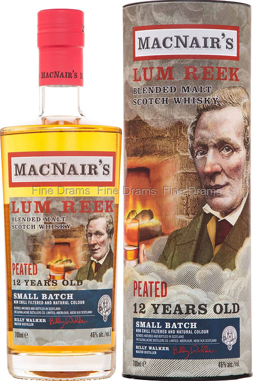 MacNair's Peated blended Malt 12y 46%