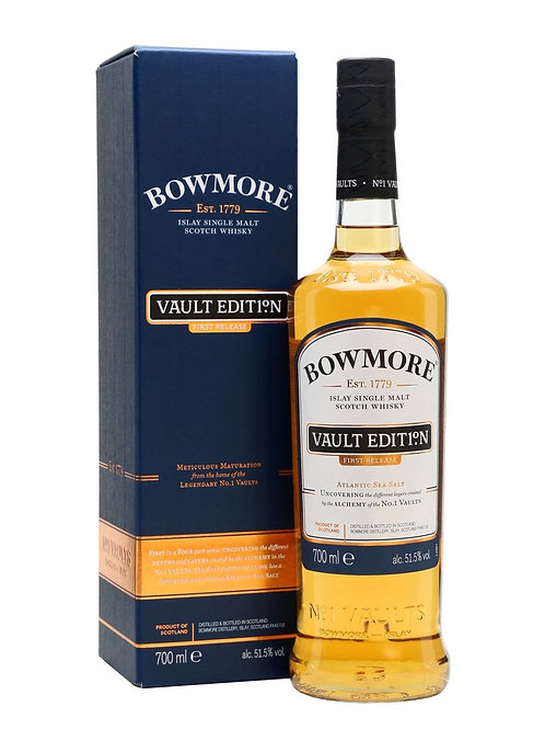 Bowmore Vaults 2nd Release Ltd.Ed. 2019 50,1%