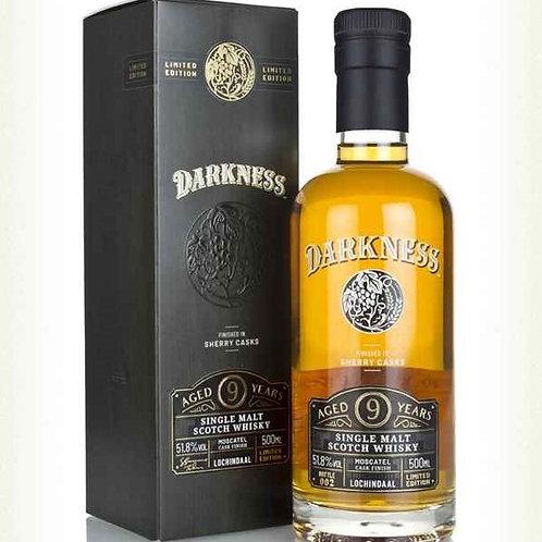 Darkness Lochindaal 9y Moscatel cask finish 51,8%