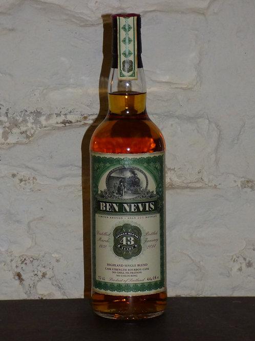 Ben Nevis 1970 43y 44,6%
