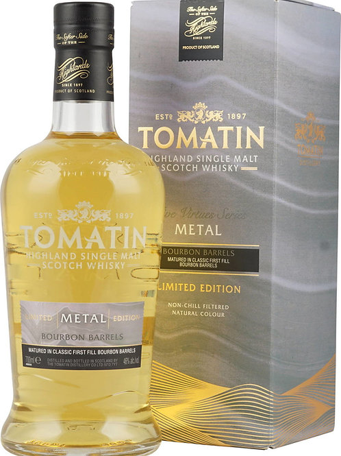 Tomatin Five Virtues Metal 46%