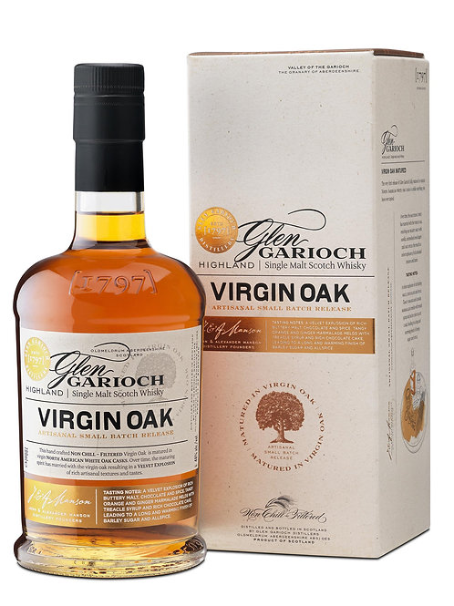 Glen Garioch Virgin Oak Limited Ed. 2013  48%
