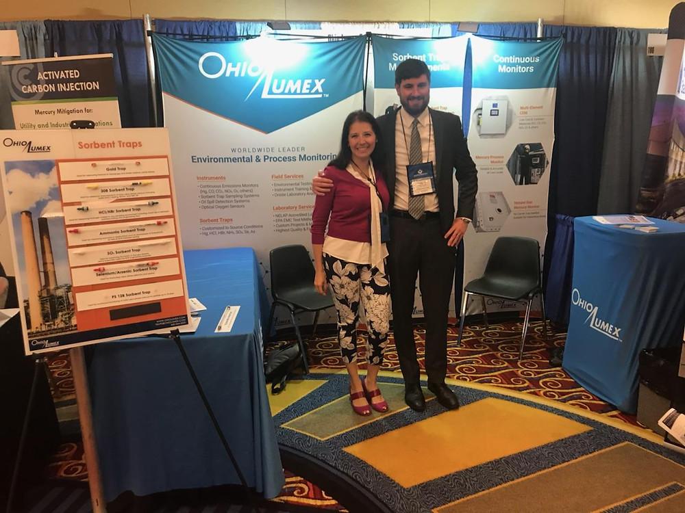 Alexandra & Anthony at MEGA Symposium