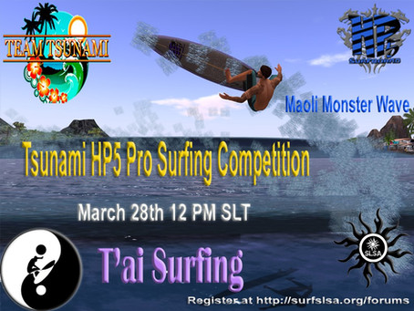 Tsunami HP5 Pro Surfing Competition