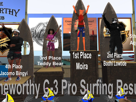 SLSA Sheworthy C3 Pro Surf Competition Results