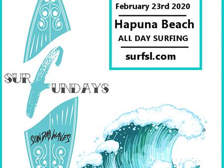 Surfunday @ Hapuna Beach this Sunday