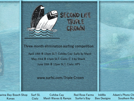 Triple Crown Second Competition Results are in!