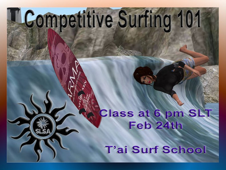 Competitive Surfing 101 Class Today @ T'ai Surf School
