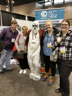 Meeting a Yeti in Chicago