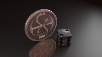 CHROME KINGS COIN AND DICE