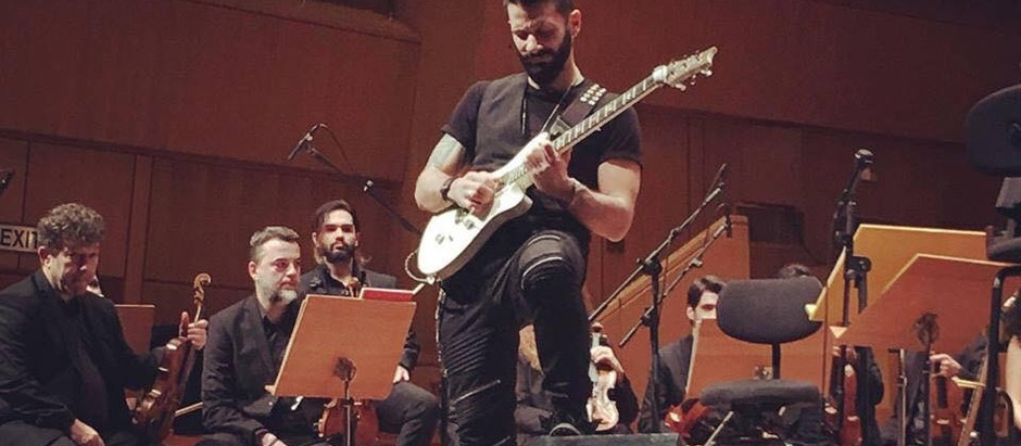 Yiannis Papadopoulos on touring with Scott Stapp and new music