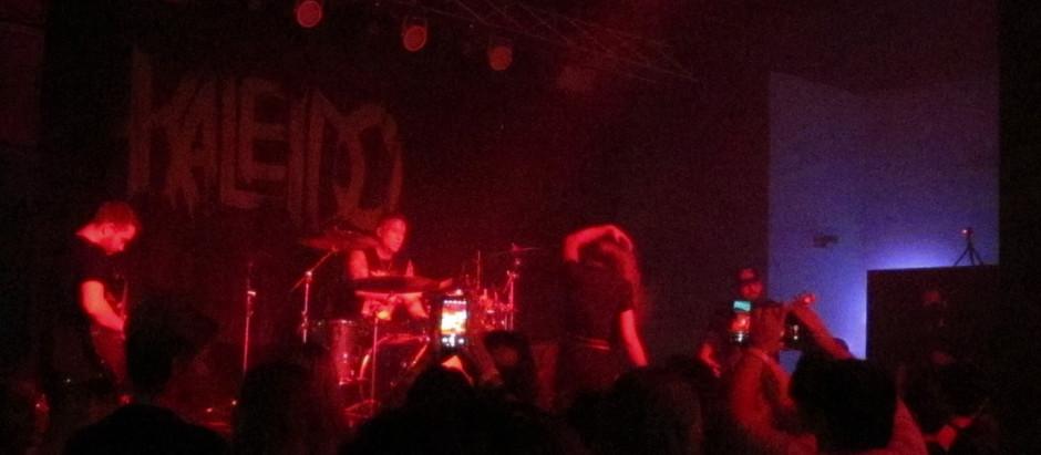 Kaleido fire up crowd at Diesel Concert Lounge
