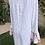 Thumbnail: White Georgette Dress w/Floral Bell Sleeves
