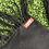 Thumbnail: Black Cashmere Wrap w/Authentic Otomi Embroidery, Satin Ribbon Detail, Fringed