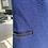 Thumbnail: Navy Blue Vest w/Black Leather Detail