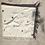 Thumbnail: Off-white Cashmere Wrap w/Lavender Detail