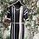 Thumbnail: Cashmere Asymmetrical Striped Hooded Dress