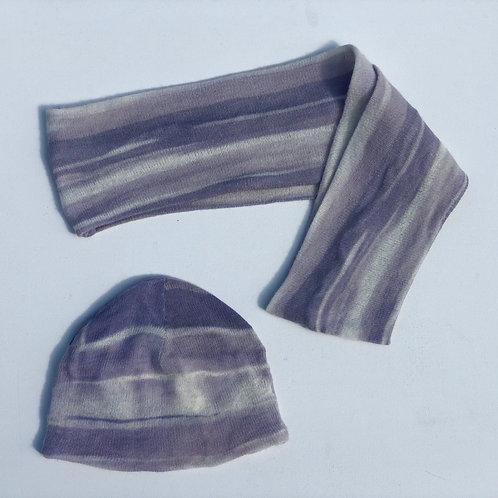 Infinity Scarf / Purple Swirl