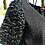 Thumbnail: Black Cashmere Top w/Persian Lamb Sleeves