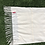 Thumbnail: Cashmere Baby Quilt in Ivory & Blue