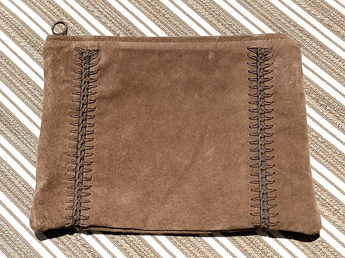 Recycled Suede Clutch/Pouch