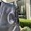 Thumbnail: Black Leather Vest w/Ruffled Leather Trim