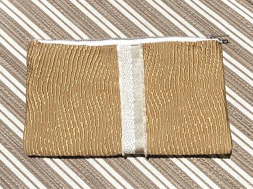 Golden Ridge Clutch w/Ribbon Detail