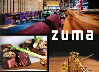 The Four Season's Brings Zuma Cuisine to Boston