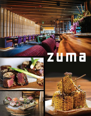The Four Season's Brings Zuma Cuisine to Boston