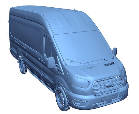 """2020 Ford Transit Cargo 148"""" Wheelbase (Extended) High Roof Scans"""