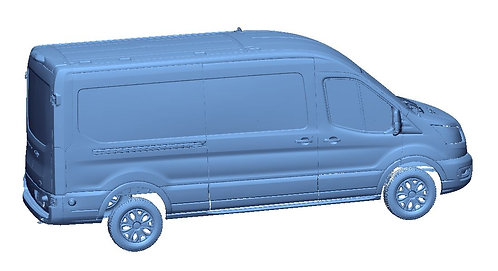 2020 Ford Transit Cargo 148WB Medium Roof Scans