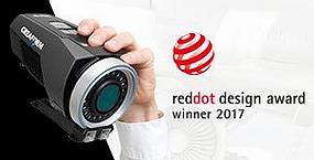 Creaform's MaxSHOT Next™ Receives Red Dot Award: Product Design 2017!