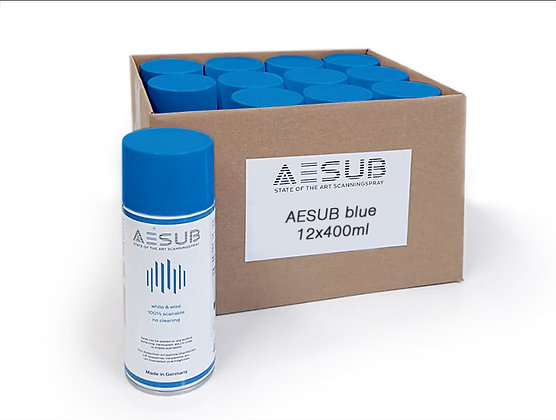 AESUB Blue Scanning Spray - 8 Cases (96 Cans)