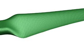 Wind Turbine Blade Scanning Project