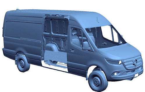 2020 Mercedes Sprinter 2500 170WB Extended 4x4 High Roof