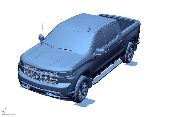 2021 Chevrolet 1500 Custom Crew Cab Short Bed